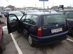 My lovely 2002 Volkswagen Polo 1.4, 75 HP