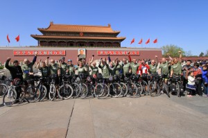 Mission completed. Tian'anmen Square, Beijing. 10.100 km. 170 days.